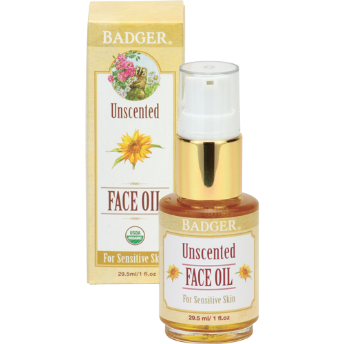 Badger Unscented Face Oil