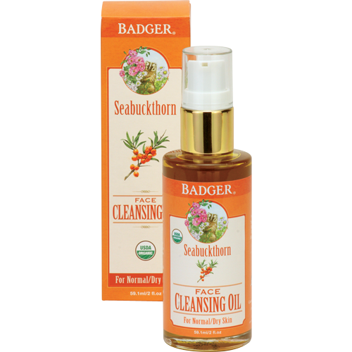 Badger Seabuckthorn Face Cleansing Oil