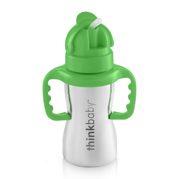 Thinkbaby Thinkster of Steel Straw Cup 9 Oz.