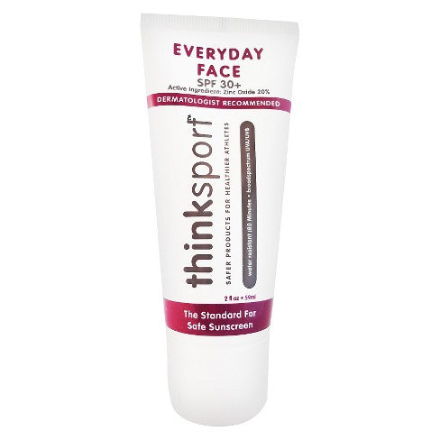 Thinksport Everyday Face Sunscreen SPF 30+ 2 Oz.