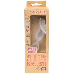 Jack N' Jill Stage 3 Silicone Tooth & Gum Brush 2-5 Years