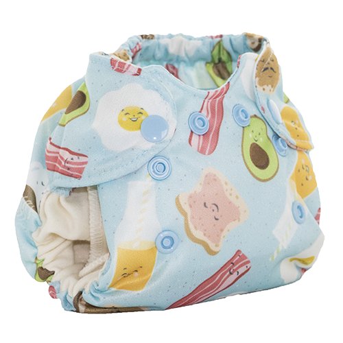 Smart Bottoms Born Smart Newborn All-In-One