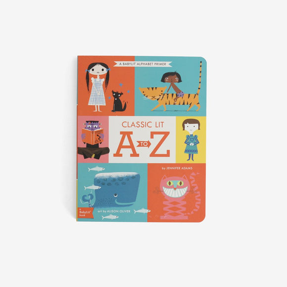 BabyLit Books: Classic Lit A to Z