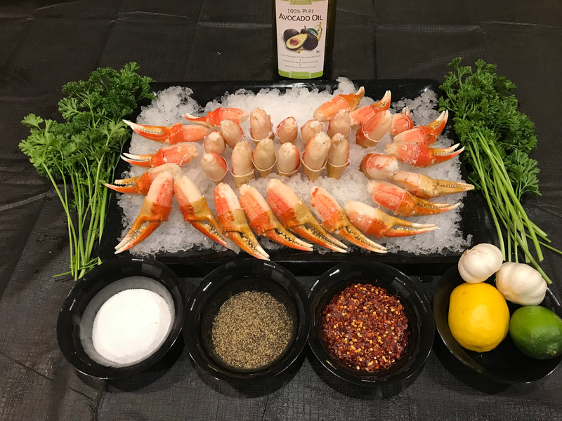 Alaskan Snow Crab Cocktail claws - FreshFish24.com