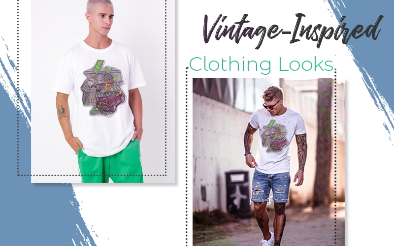 Vintage-Inspired Clothing Looks