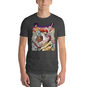 Knights Fighting the King Short-Sleeve T-Shirt
