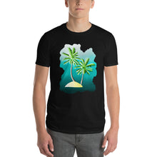 Load image into Gallery viewer, Palm Trees Short-Sleeve T-Shirt