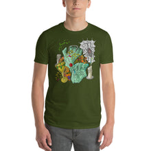 Load image into Gallery viewer, Short-Sleeve T-Shirt     Sunken Treasure with Candles