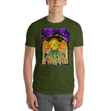 Load image into Gallery viewer, Queen waking up from space Craft Short-Sleeve T-Shirt