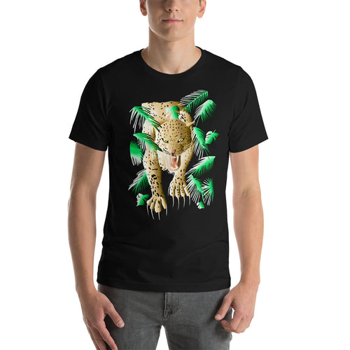 Leopard Short-Sleeve Unisex T-Shirt
