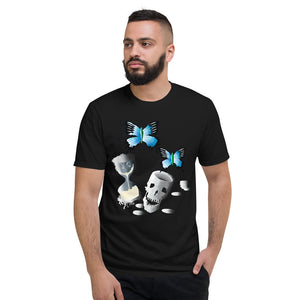 Skull Butterfly Short-Sleeve T-Shirt