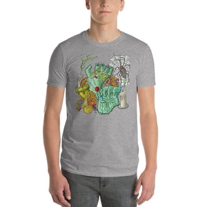 Short-Sleeve T-Shirt     Sunken Treasure with Candles