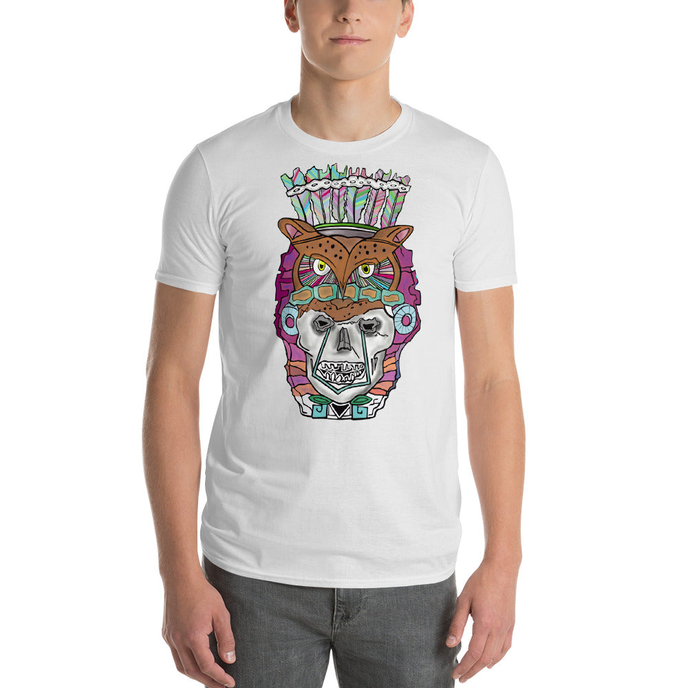 Owl Skull Kings Piece Short-Sleeve T-Shirt