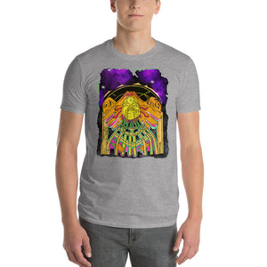 Queen waking up from space Craft Short-Sleeve T-Shirt