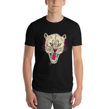 Load image into Gallery viewer, Abstract Designed Lion Face Short Sleeves T-shirt