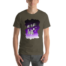 Load image into Gallery viewer, Bat in Castle Short-Sleeve Unisex T-Shirt