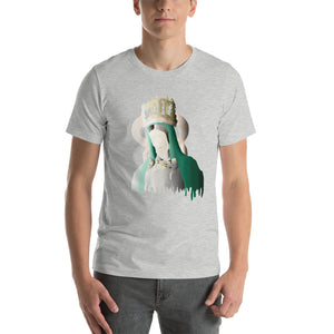 Virgin Mary Crown Short-Sleeve Unisex T-Shirt