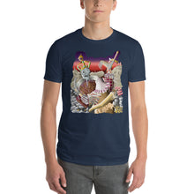 Load image into Gallery viewer, Knights Fighting the King Short-Sleeve T-Shirt