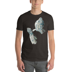 Knights  Helmet  Short-Sleeve T-Shirt