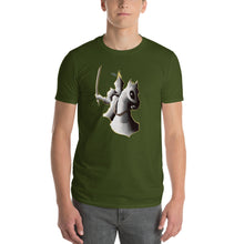 Load image into Gallery viewer, Knight Riding Horse Short-Sleeve T-Shirt