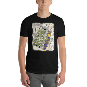 Egyptian King waking up  Short-Sleeve T-Shirt