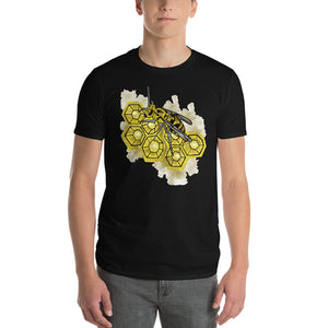 Honey Comb Bee Nest Short-Sleeve T-Shirt