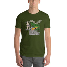 Load image into Gallery viewer, Boy Holding Fire Breathing  Dragon Short-Sleeve T-Shirt