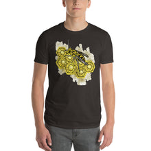 Load image into Gallery viewer, Honey Comb Bee Nest Short-Sleeve T-Shirt