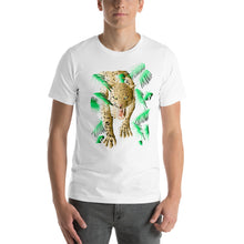 Load image into Gallery viewer, Leopard Short-Sleeve Unisex T-Shirt