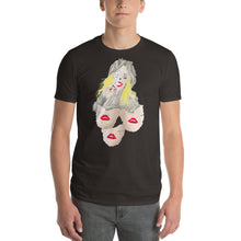 Load image into Gallery viewer, Short-Sleeve T-Shirt  Three Faces