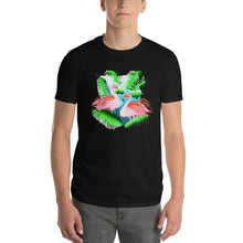 Load image into Gallery viewer, Flamingos in the Jungle  Short-Sleeve T-Shirt
