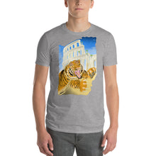 Load image into Gallery viewer, Short-Sleeve Tiger Print T-shirt