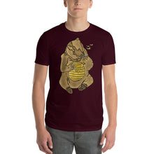 Load image into Gallery viewer, Bears Hand in Honey Comb Short-Sleeve T-Shirt