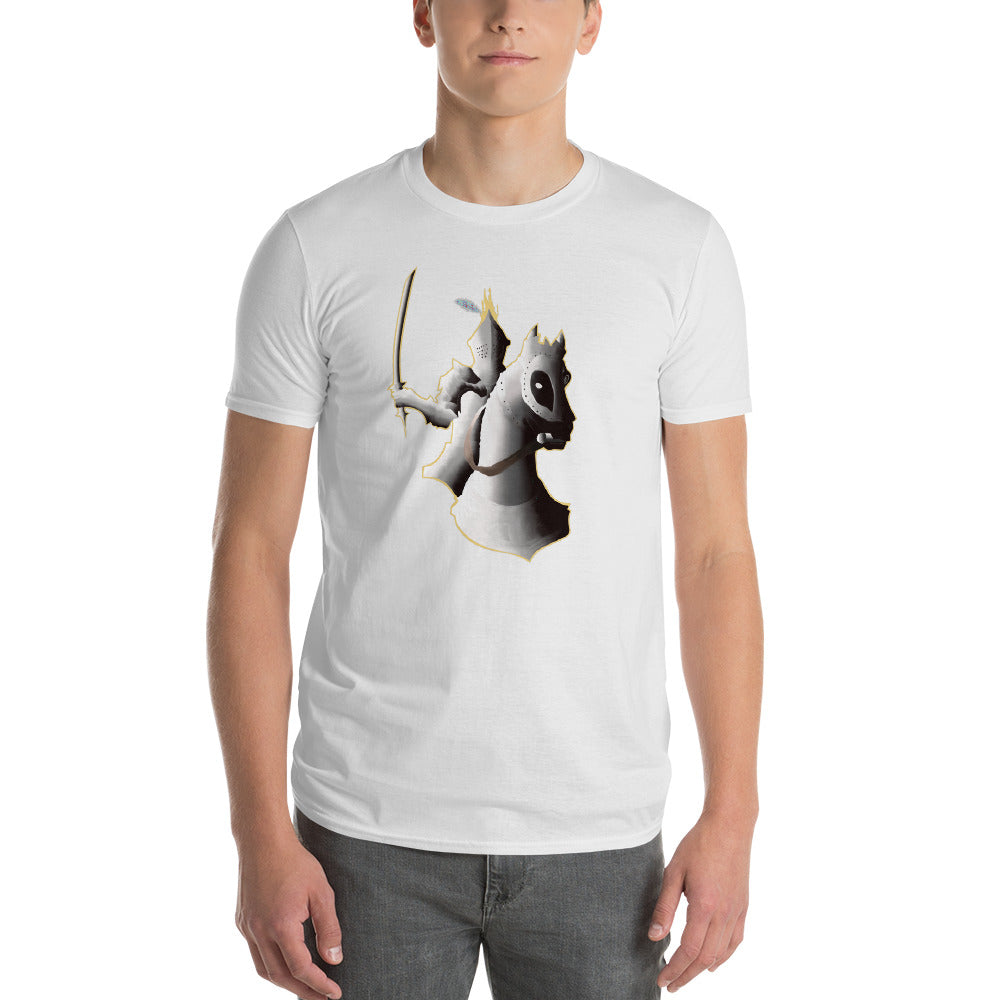 Knight Riding Horse Short-Sleeve T-Shirt