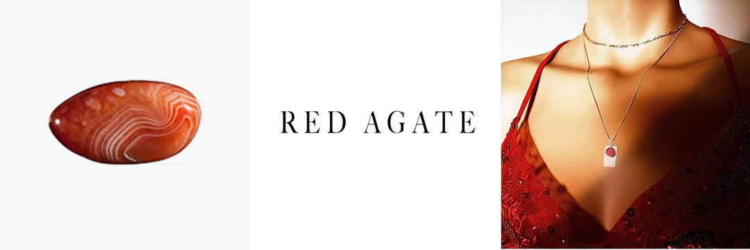 red agate banner