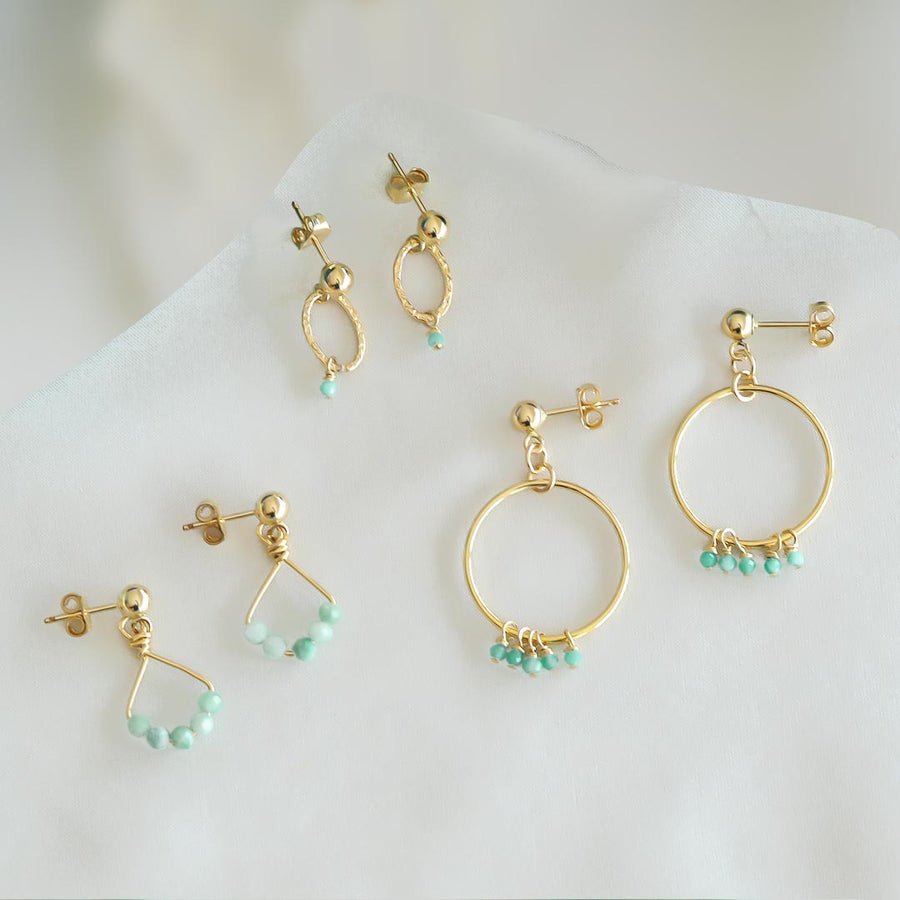 Angel-5--Orbit-and-Constellation-Earrings-Gold-and-Amazonite-blue-no-text