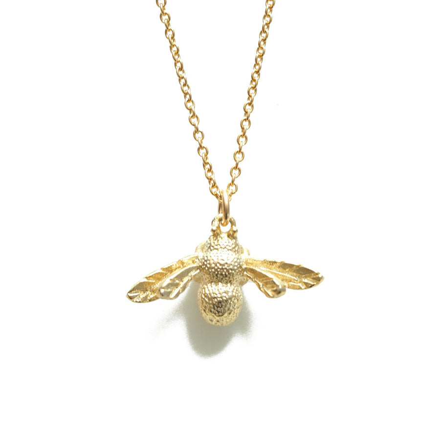 Little Bee Necklace - Gold