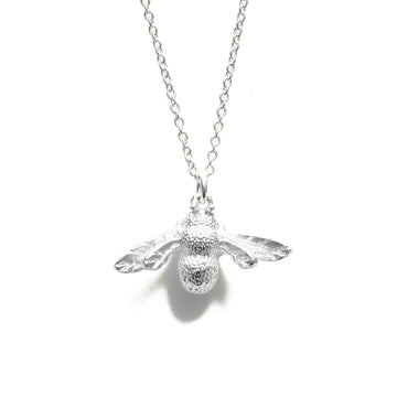 Little Bee Necklace - Silver