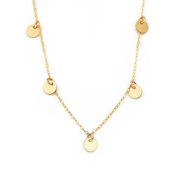 Charmed Piper necklace gold