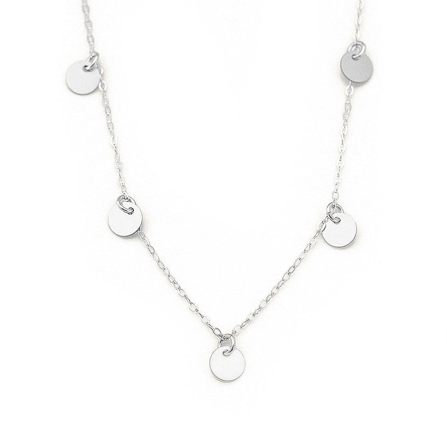 Charmed Piper Necklace Silver