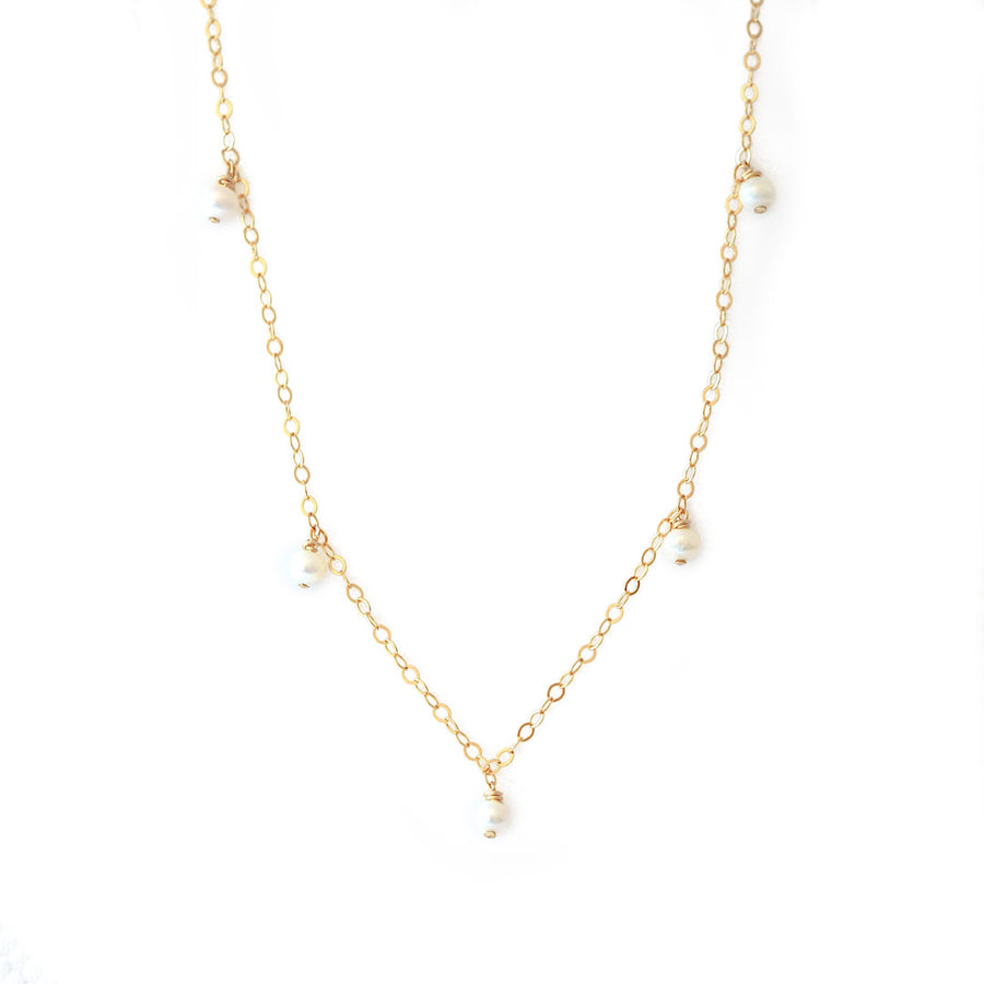 Charmed Prue Necklace gold and Pearl