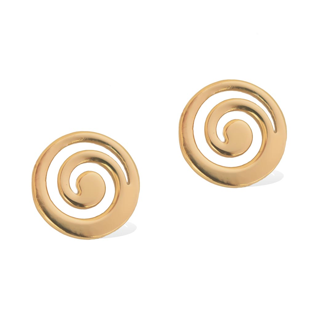 CURRENT EARRINGS  -  Gold