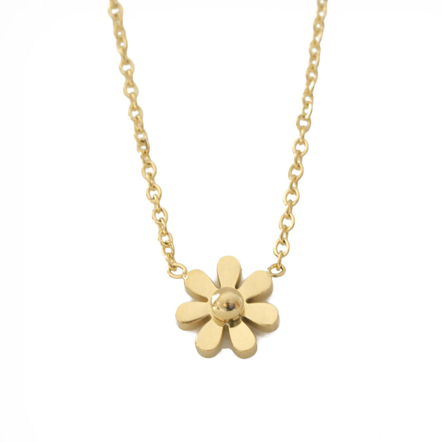 Daisy Petite Necklace – Gold