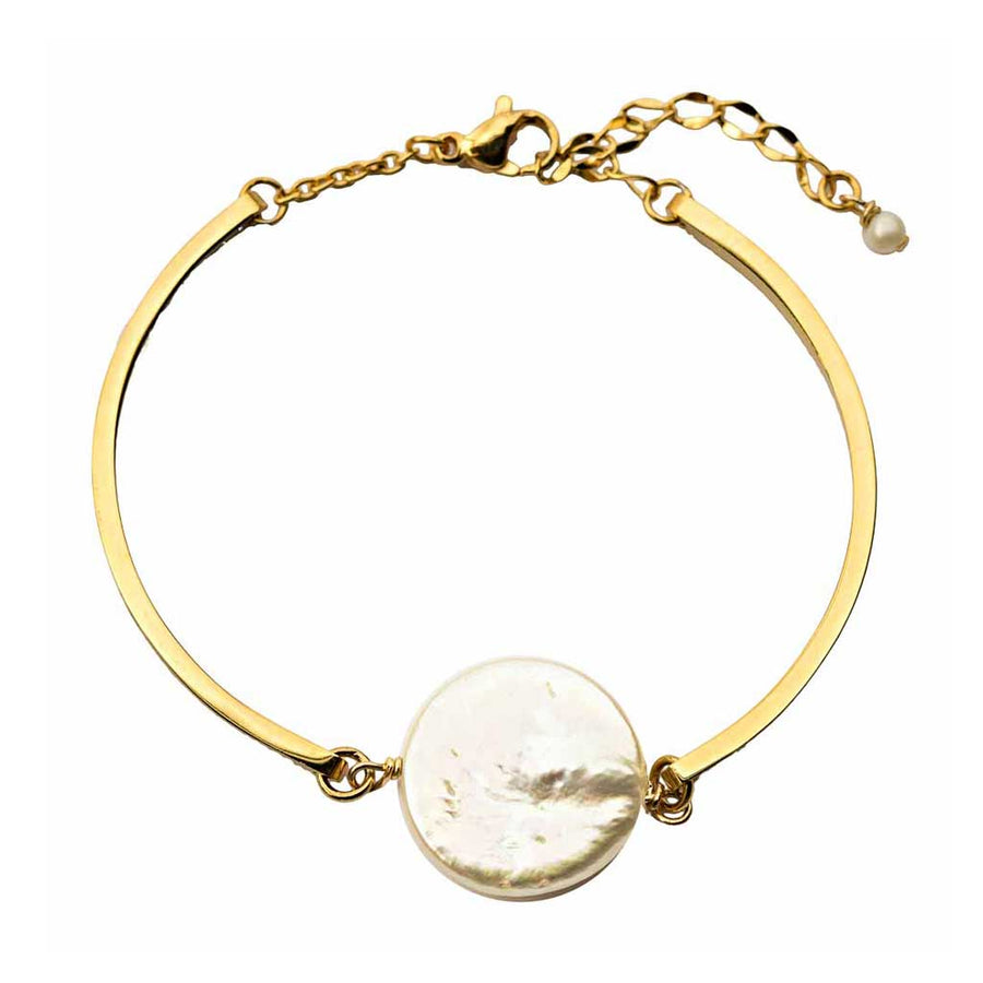 Enchantment Pearl Bracelet - Gold and Pearl