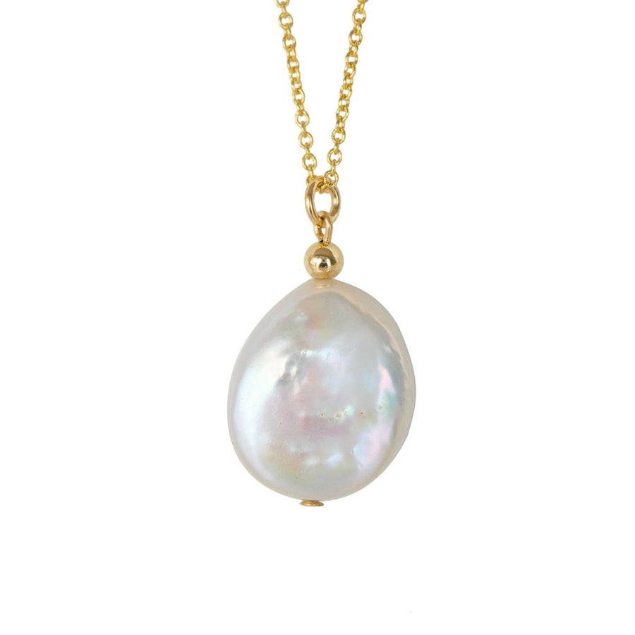 Enchantment Pearl Necklace - Gold and Pearl