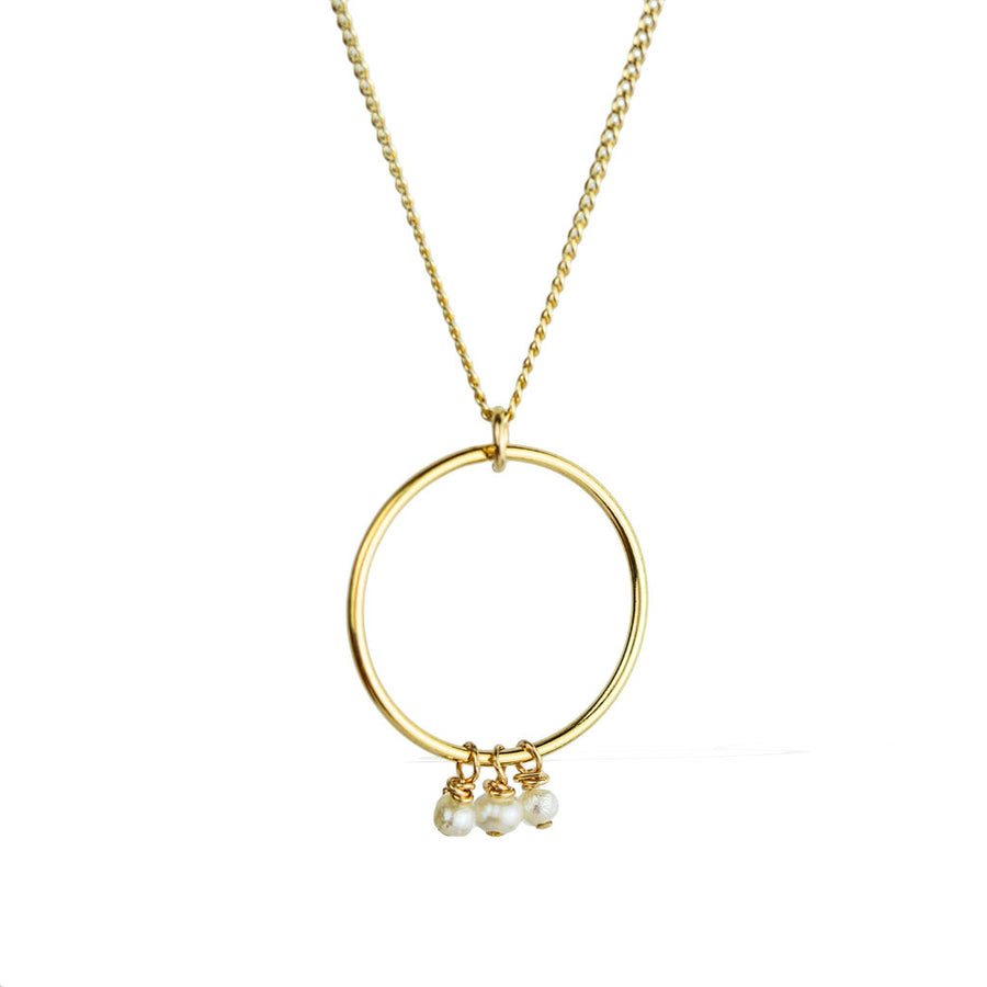 Halo Constellation Necklace trace chain - Gold