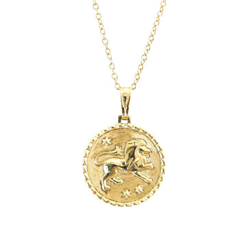 The Leo Necklace - Solid Gold