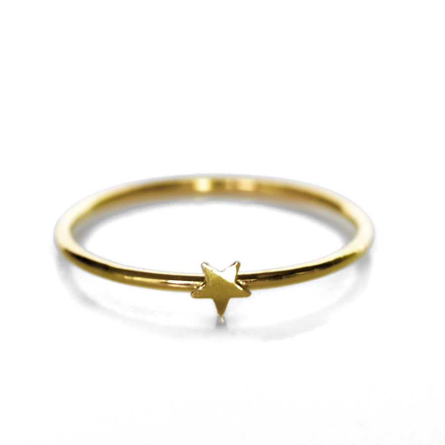 Little Star Ring - Gold