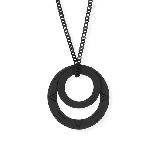 MAGIC CIRCLES PENDANT - Black