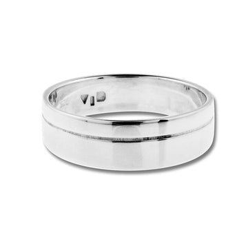 MERIDIAN RING - Sterling Silver front